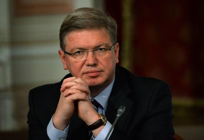 Komisarz UE ds. rozszerzenia Sztefan Fuele. /AFP