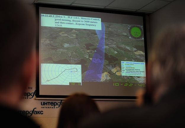 Komisja Millera przedstawi własną animację lotu Tu-154M /AFP
