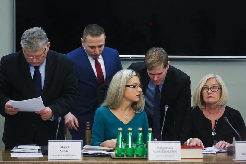 Komisja śledcza kontynuuje przesłuchania /Rafał Guz /PAP