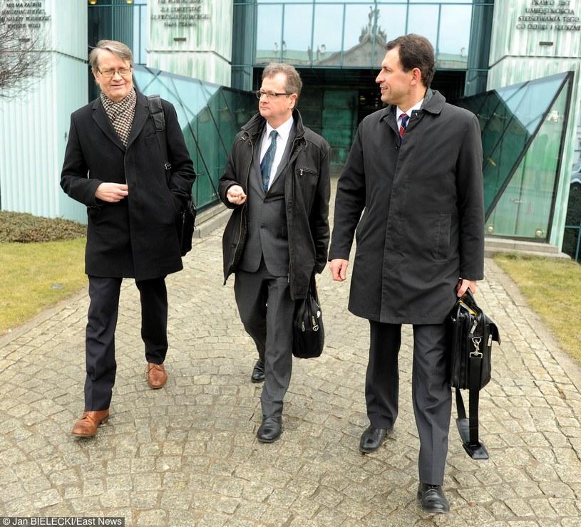 Komisja Wenecka podczas wizyty w Polsce /Jan Bielecki /East News
