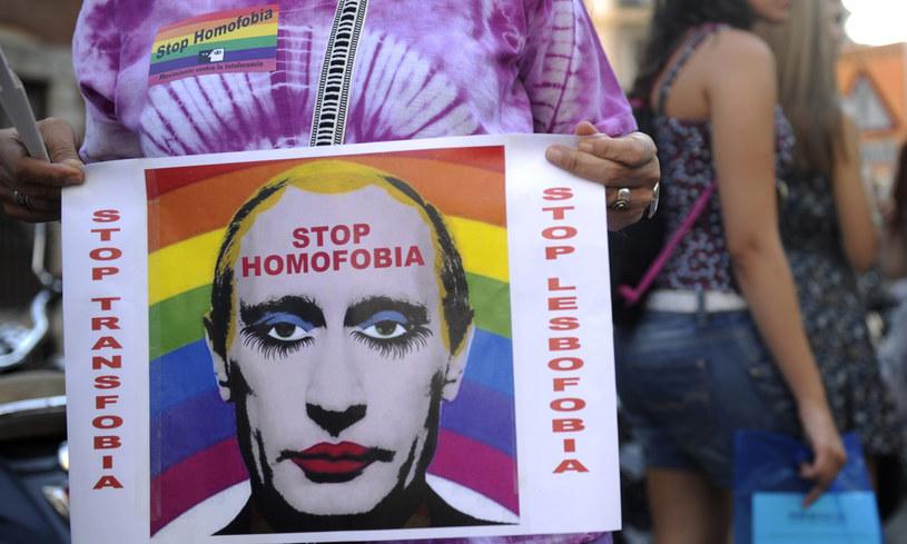 """Komitet ONZ: Rosja winna anulować ustawę o """"propagandzie gejowskiej"""" /AFP"""