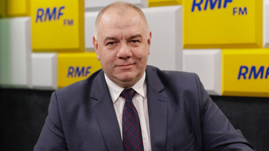 Komitetu Stałego Rady Ministrów Jacek Sasin /Karolina Bereza /RMF FM