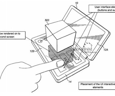 Komórka Nokii z ekranem 3D