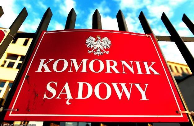 Komornicy płacić będą VAT. Fot. Stanisław Kowalczuk /Agencja SE/East News