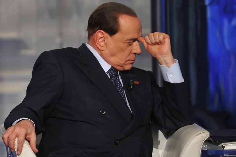 Komornik wyniósł meble z centrali partii Berlusconiego /AFP