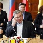 Komorowski: Decyzja ws. przyjęcia euro po analizie, czy nam się to opłaca
