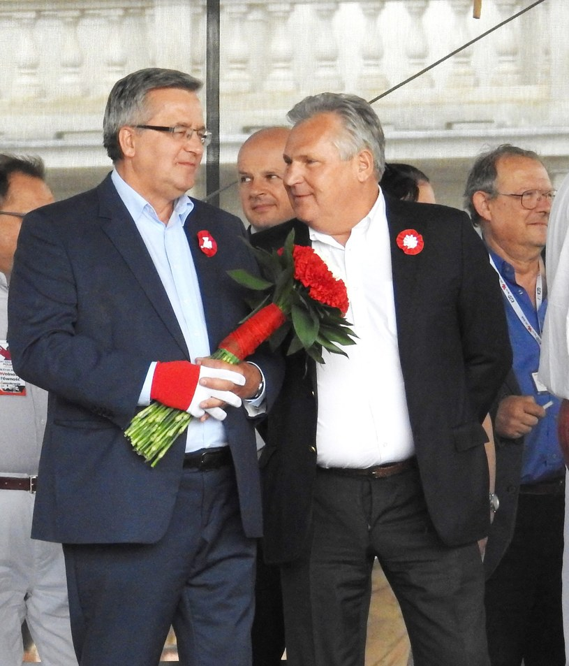 Komorowski i Kwaśniewski /Wojtek Laski /East News