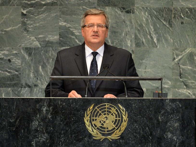Komorowski o ataku: budzi oburzenie i zasługuje na potępienie /STAN HONDA /AFP