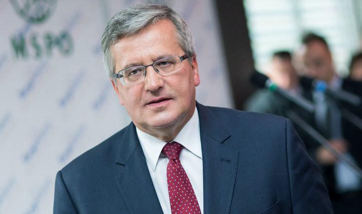 Komorowski odwiedził Izrael w 2009 roku jako marszałek Sejmu /Patryk Ptak /Reporter