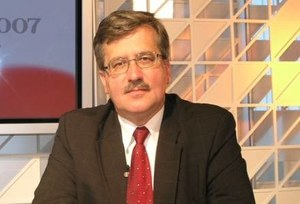 Komorowski: PiS ma do tego prawo