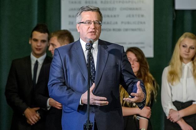 Komorowski podpisał ustawę. 280 mln zł weźmie KWK Kazimierz-Juliusz /PAP