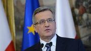 Komorowski: Referendum na Krymie nie ma mocy obowiązującej