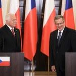 Komorowski: Wizyta Klausa w Polsce potwierdzeniem dobrej współpracy