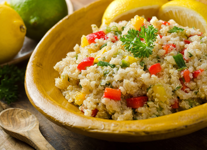 Komosa ryżowa - pełnowartościowa, pyszna i zdrowa /123RF/PICSEL