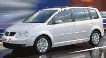 Kompaktowy van Volkswagena /INTERIA.PL