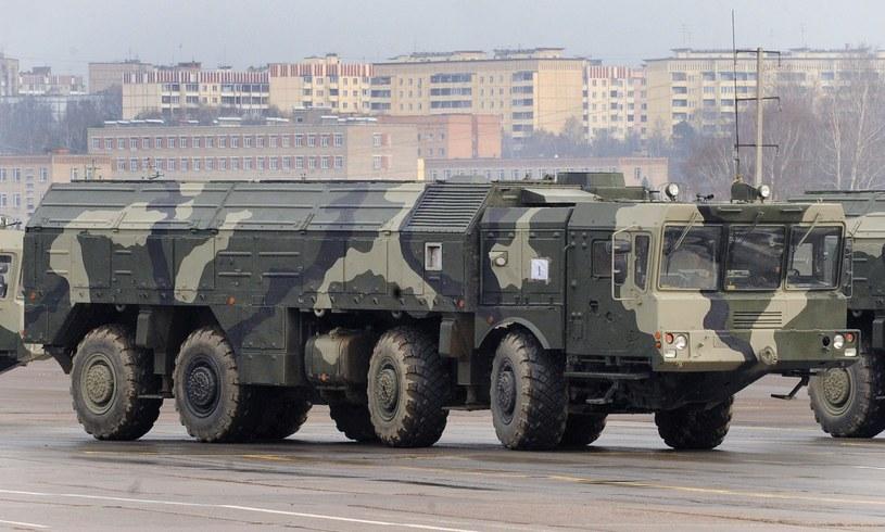 """Kompleks rakietowy """"Iskander"""" /AFP"""
