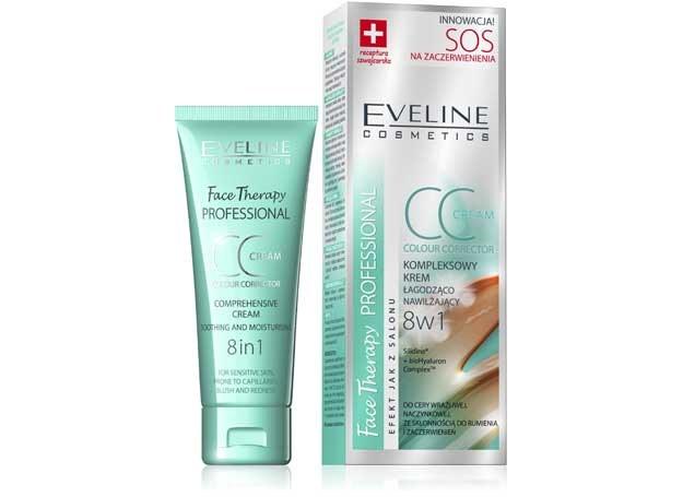 Kompleksowy krem cc łagodząco-nawilżający 8w1 Eveline cosmetics /materiały prasowe