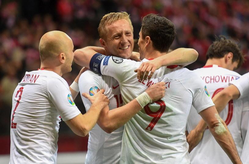 Komplet punktów, trzy zdobyte gole, zero straconych - tak Orły rozpoczęły el. Euro 2020 /Piotr Nowak /PAP