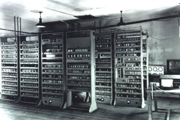 Komputer EDSAC z 1949 roku Źródło: edsac.org /HeiseOnline