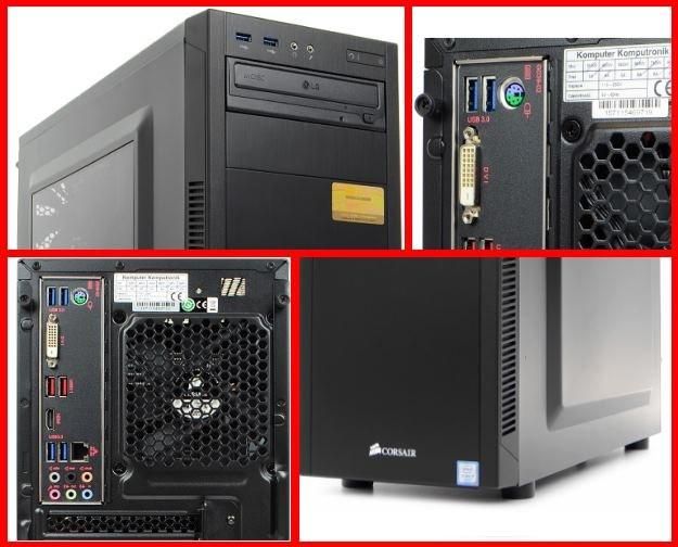 Komputer - Komputronik IEM Champion 2016 X001 (kolaż zdjęć ze sklepu Komputronika) /materiały prasowe