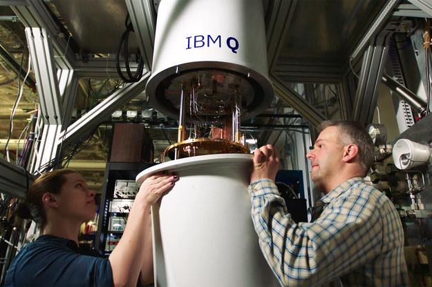 Komputer kwantowy (fot. IBM) /&nbsp