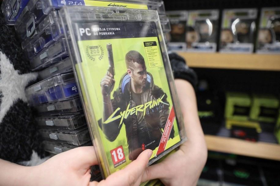 Komputerowa fabularna gra akcji Cyberpunk 2077 miała premierę 10 grudnia / Leszek Szymański    /PAP