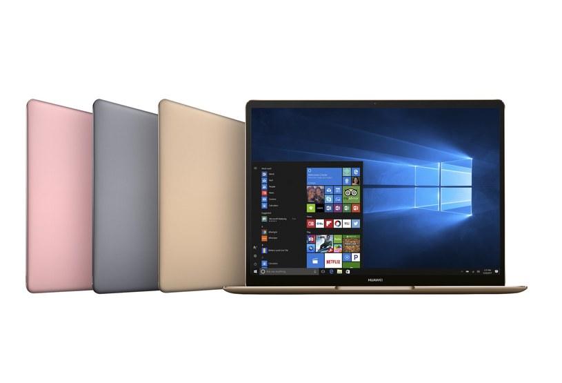 Komputery Huawei MateBook X /materiały prasowe