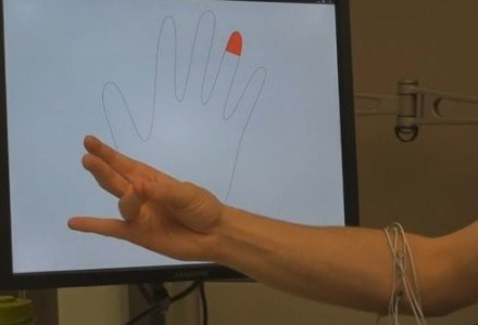Komputery i odtwarzacze obsługiwene ruchami mięśni? Czemu nie /materiały prasowe