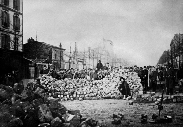 Komuna Paryska trwała od 18 marca do 28 maja 1871 roku /SNEP  /AFP