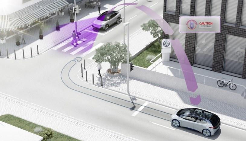 Komunikacja pojazdów wyposażonych w technologię pWLAN /INTERIA.PL/informacje prasowe