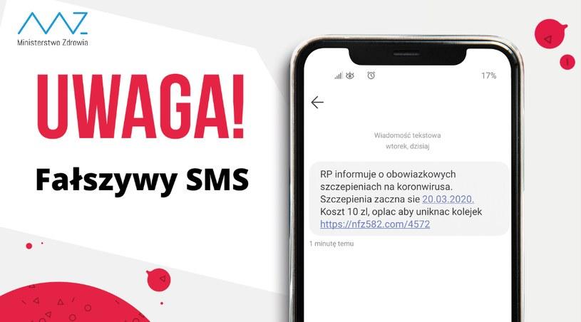Komunikat Ministerstwa Zdrowia, marzec 2020 r. /Twitter/Ministerstwo Zdrowia /INTERIA.PL