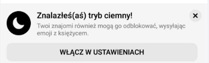 """Komunikat pojawiający się po wpisaniu słowa """"Księżyc"""" /INTERIA.PL"""
