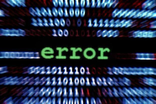 Komunikaty błędów nie zawsze oznaczają usterkę strony WWW /123RF/PICSEL