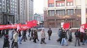 Komuniści świętowali w Moskwie 95. rocznicę rewolucji bolszewickiej