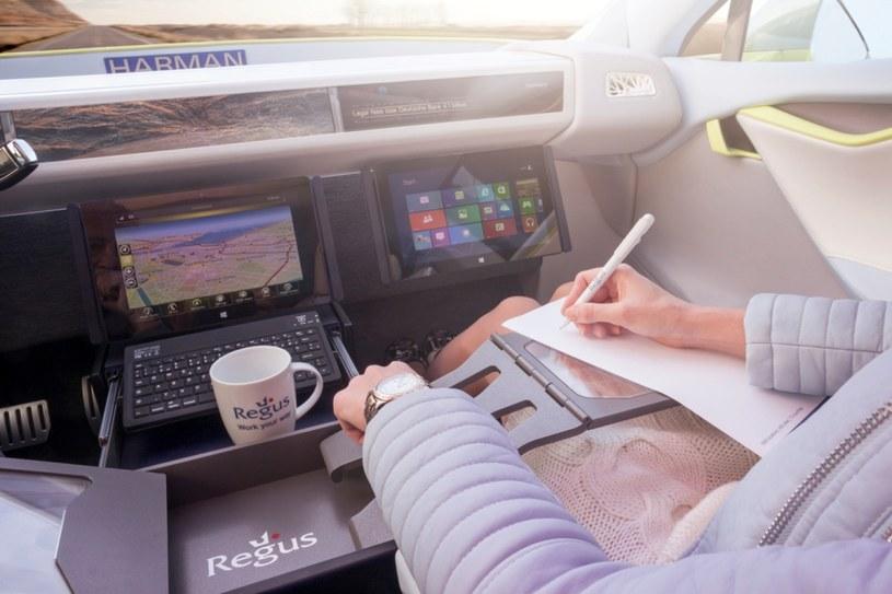 Koncepcja autonomicznego samochodu zmieni sposób,  w jaki pracujemy w podróży. /materiały prasowe
