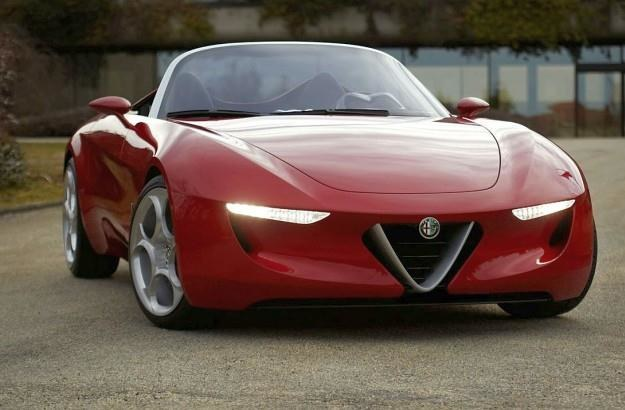 Koncepcyjna Pininfarina Alfa Romeo 2uettottanta /