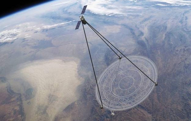 Koncepcyjna wizja satelity szpiegowskiego Moire /Internet