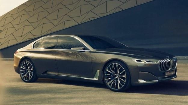 Koncepcyjne BMW Vision Future Luxury, zapowiadające nową serię 7. /BMW