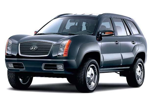 Koncepcyjny Hyundai Santa Fe (kliknij) /INTERIA.PL