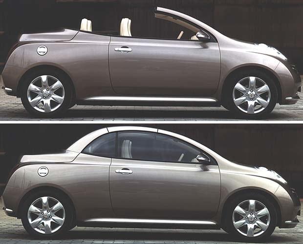 Koncepcyjny Nissan Micra C+C (kliknij) /INTERIA.PL