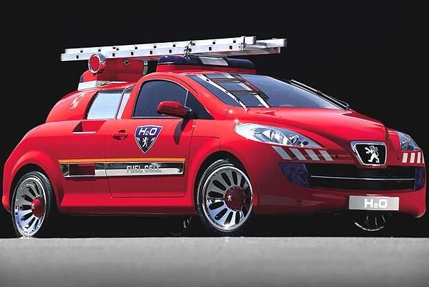 Koncepcyjny Peugeot H2O (kliknij) /INTERIA.PL