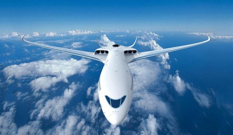 Koncept elektrycznego samolotu Airbusa /materiały prasowe