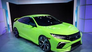 Koncept zapowiadający nową Hondę Civic coupe