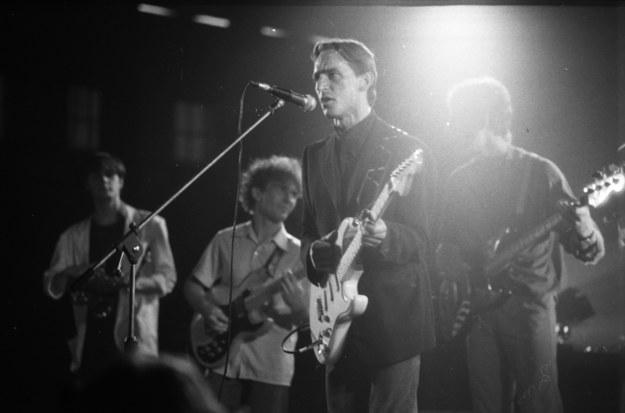 Koncert Daabu w 1985 r., na pierwszym planie Piotr Strojnowski /CAF /PAP