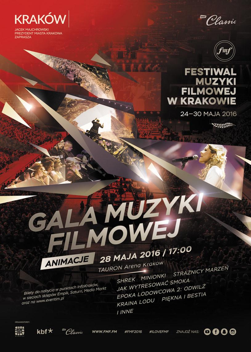 """Koncert """"Gala Muzyki Filmowej: Animacje"""" odbędzie się 28 maja /materiały prasowe"""