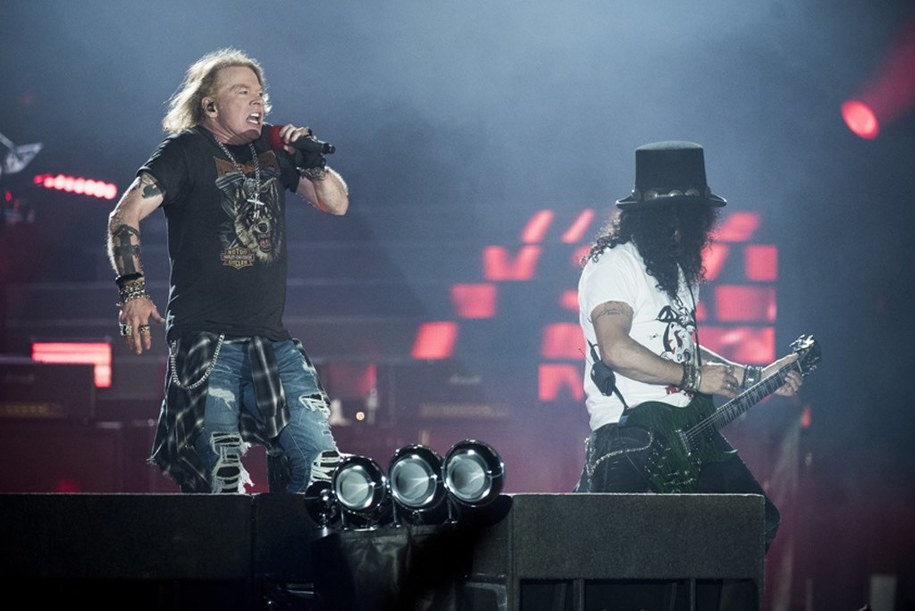 Koncert Guns n'Roses w Kopenhadze w czerwcu tego roku /SCANPIX DENMARK /PAP/EPA