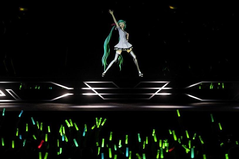 Koncert Hatsune Miku w Paryżu, styczeń 2020 /AFP