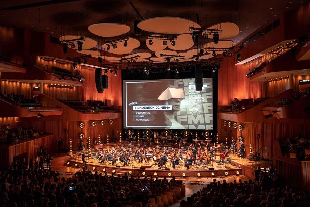 Koncert Penderecki2Cinema w ICE Kraków - 30 maja 2018 /Wojciech Wandzel /materiały prasowe