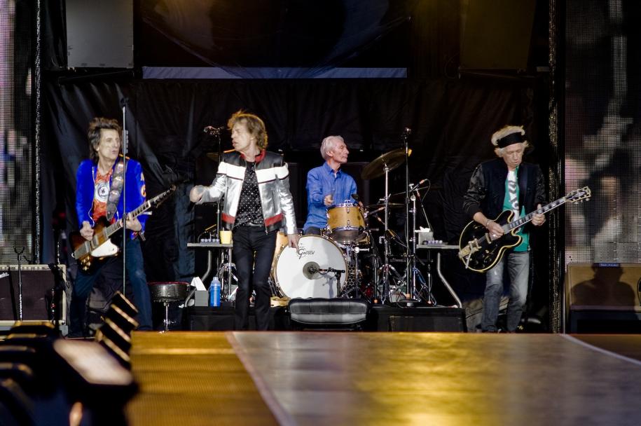Koncert Rolling Stonesów w Londynie /Bogdan Frymorgen /RMF FM
