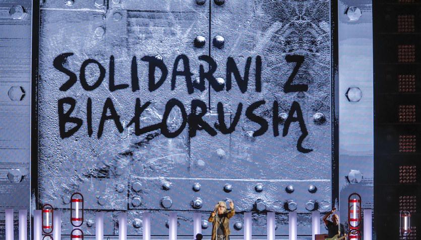 """Koncert """"Solidarni z Białorusią"""" z PGE Narodowego: Bez wolności umiera się za chwilę"""